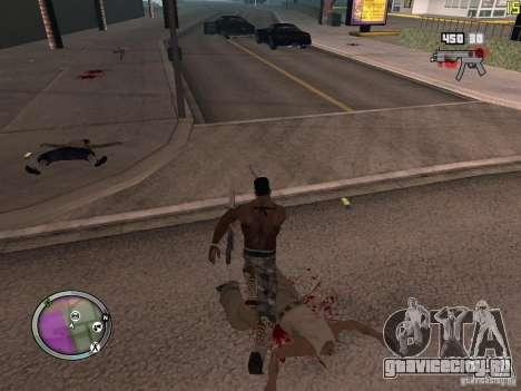 Новые ГАНГСТЕРСКИЕ зоны для GTA San Andreas десятый скриншот