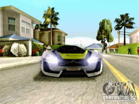 Citroen GT Gymkhana для GTA San Andreas вид сбоку