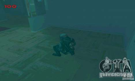 Cпецназовец из Амбреллы для GTA San Andreas десятый скриншот