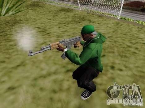 AK-47 из Saints Row 2 для GTA San Andreas четвёртый скриншот