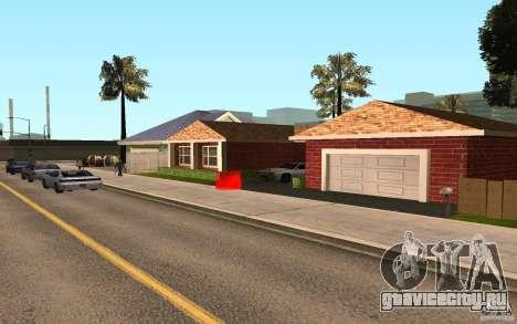 Новые текстуры дома Милли для GTA San Andreas третий скриншот