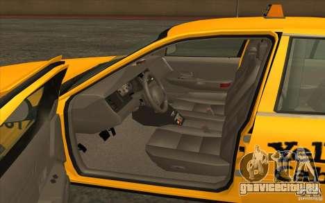 Ford Crown Victoria Taxi 2003 для GTA San Andreas вид слева