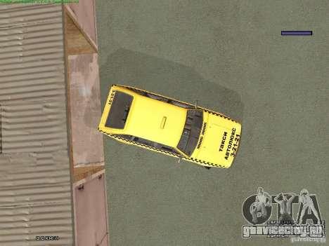 АЗЛК 2141 Москвич Такси v2 для GTA San Andreas колёса