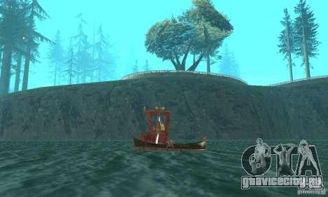 Lil Tug для GTA San Andreas вид сзади слева