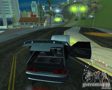ВАЗ 2113 Ferarri для GTA San Andreas вид сзади слева