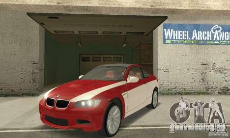 BMW M3 E92 Stock для GTA San Andreas колёса