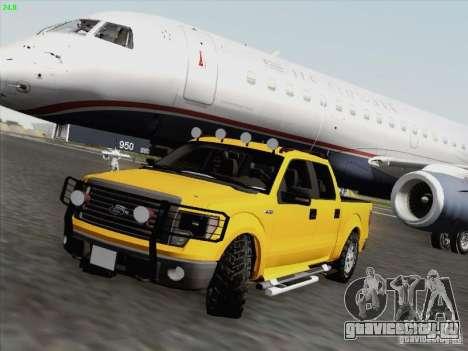 Ford F-150 для GTA San Andreas вид снизу