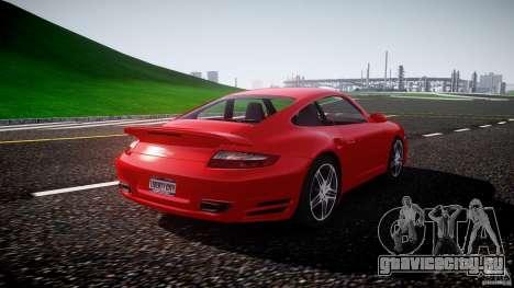 Porsche 911 Turbo V3 (final) для GTA 4 вид изнутри