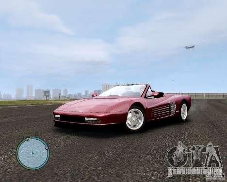 Ferrari Testarossa для GTA 4