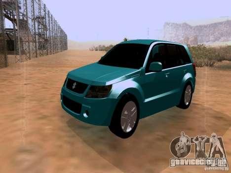 Suzuki Grand Vitara для GTA San Andreas
