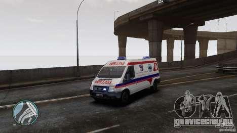 Ford Transit Ambulance для GTA 4