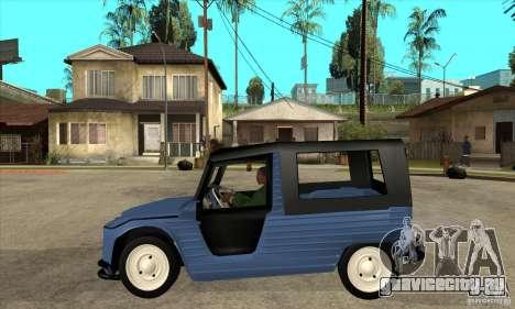 Citroen Mehari для GTA San Andreas вид слева