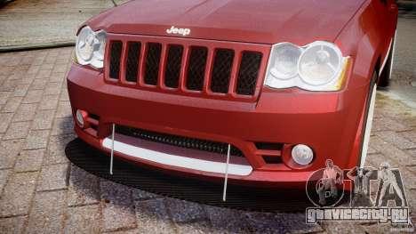 Jeep Grand Cherokee для GTA 4 вид сверху