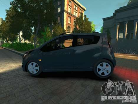 Chevrolet Spark для GTA 4 вид слева
