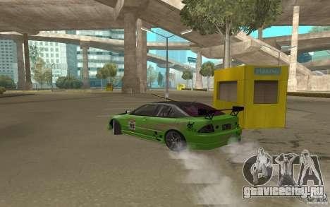 Toyota Altezza Toy Sport для GTA San Andreas вид справа