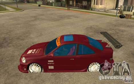 Honda Civic 1998 Tuned для GTA San Andreas вид слева