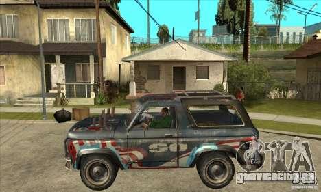 Blaster XL from FlatOut2 для GTA San Andreas вид слева