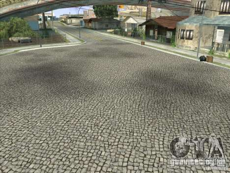 Grove Street Retextured для GTA San Andreas восьмой скриншот