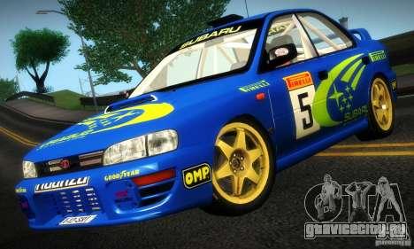 Subaru Impreza 1995 World Rally ChampionShip для GTA San Andreas вид слева