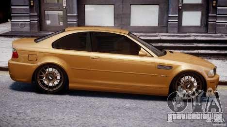 BMW M3 E46 Tuning 2001 v2.0 для GTA 4 вид сбоку