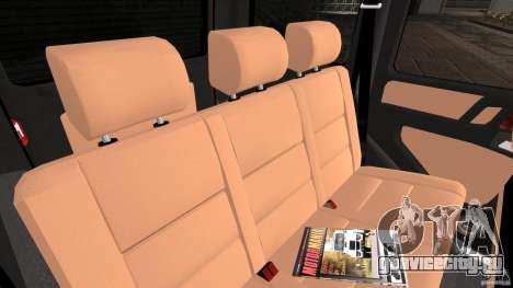 Mercedes-Benz G55 AMG для GTA 4 вид изнутри