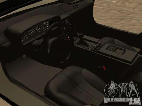 DeLorean DMC-12 для GTA San Andreas вид сбоку