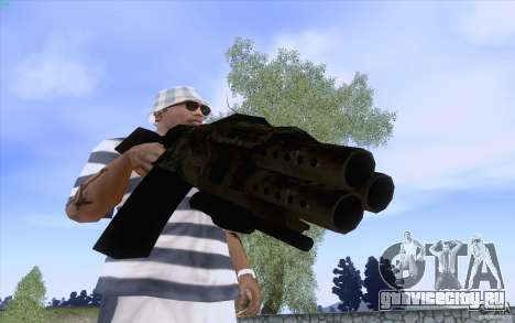 Оружие из F.E.A.R. для GTA San Andreas пятый скриншот