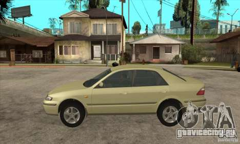 MAZDA 626 GF Sedan для GTA San Andreas вид слева