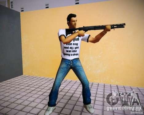 Пак оружия из GTA 4 Lost and Damned для GTA Vice City второй скриншот