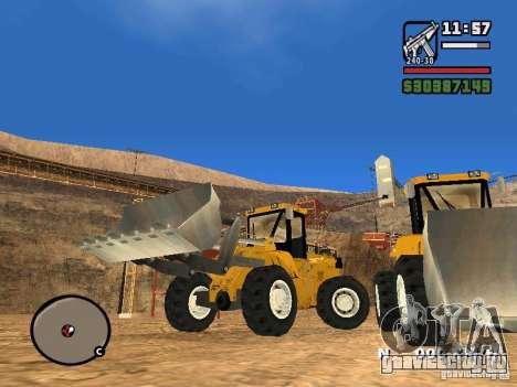 Caterpillar T530 для GTA San Andreas вид сзади слева