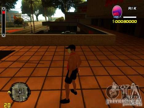 Скин пляжного человека для GTA San Andreas третий скриншот