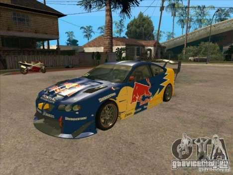 Pontiac GTO Red Bull для GTA San Andreas