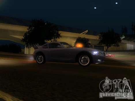 BMW Z4 M 07 для GTA San Andreas вид слева