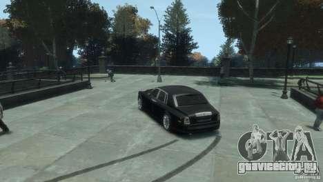 Rolls-Royce Phantom для GTA 4 вид сзади слева