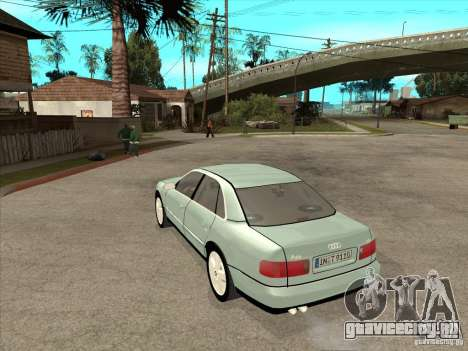 Audi A8 Long 6.0 W12 2002 для GTA San Andreas