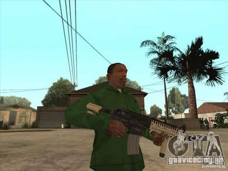М4 из Call of Duty для GTA San Andreas второй скриншот