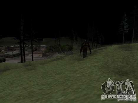 Снежный человек для GTA San Andreas второй скриншот
