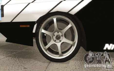 BMW E30 M3 - Coupe Explosive для GTA San Andreas вид сверху