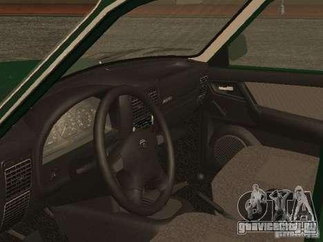 ГАЗ 3110 v.2 для GTA San Andreas вид сзади
