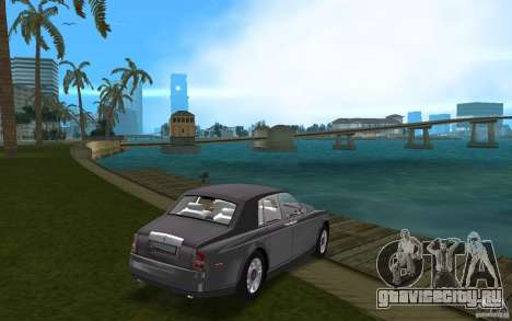 Rolls Royce Phantom для GTA Vice City вид справа