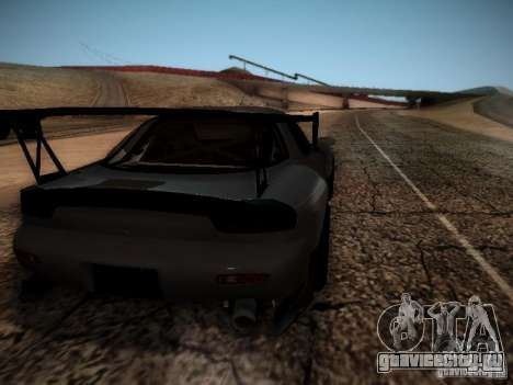 Mazda RX7 Drift для GTA San Andreas вид справа