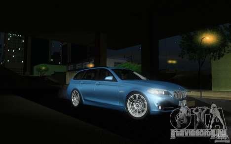BMW F11 530d Touring для GTA San Andreas вид сзади