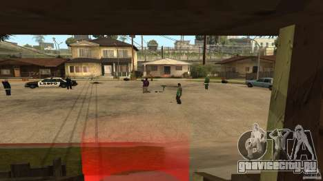 На Grove Street напал Ballas для GTA San Andreas второй скриншот