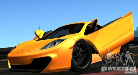 McLaren MP4-12C TT Black Revel для GTA San Andreas