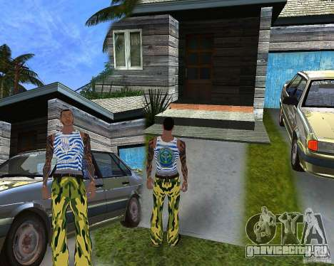 CJ ВДВ для GTA San Andreas