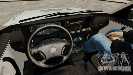 Volkswagen Santana Shanghai Century Rookie для GTA 4 вид изнутри