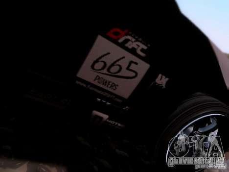Nissan Silvia S14 Matt Powers v4 2012 для GTA San Andreas вид сзади