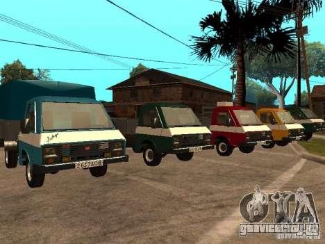 РАФ 33111 для GTA San Andreas вид справа