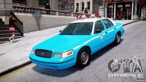 Ford Crown Victoria Classic Blue NYPD Scheme для GTA 4