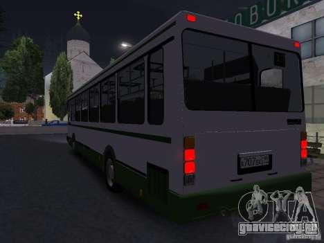 ЛиАЗ 5256 Пригородный для GTA San Andreas вид справа